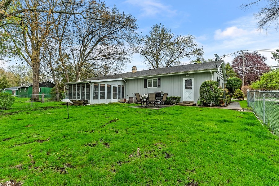 Real Estate Photography - 151 W Depot, Antioch, IL, 60002 - Rear View