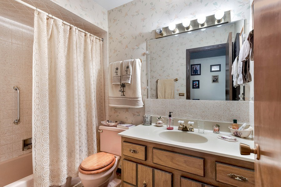 Real Estate Photography - 151 W Depot, Antioch, IL, 60002 - Bathroom