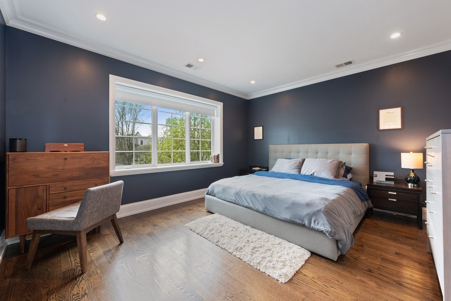 Real Estate Photography - 1842 N Albany, Chicago, IL, 60647 - Master Bedroom