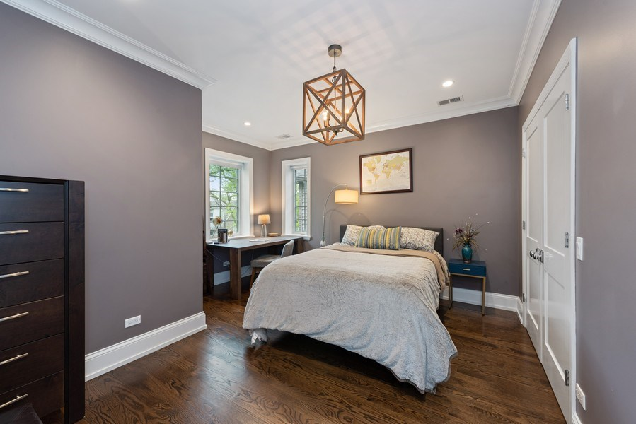 Real Estate Photography - 1842 N Albany, Chicago, IL, 60647 - 2nd Bedroom