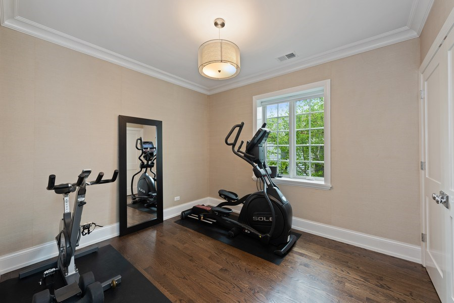 Real Estate Photography - 1842 N Albany, Chicago, IL, 60647 - 3rd Bedroom