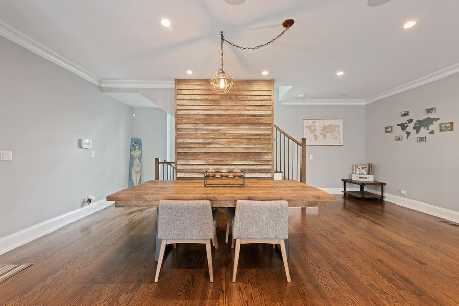 Real Estate Photography - 1842 N Albany, Chicago, IL, 60647 - Dining Room