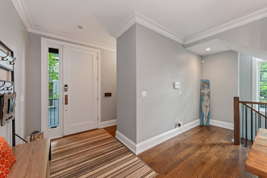 Real Estate Photography - 1842 N Albany, Chicago, IL, 60647 - Foyer