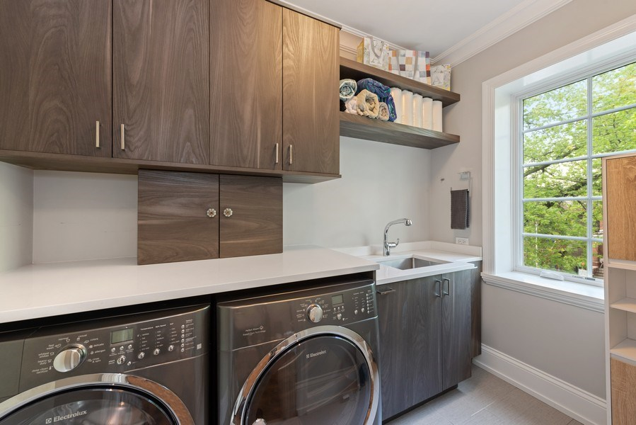 Real Estate Photography - 1842 N Albany, Chicago, IL, 60647 - Laundry Room