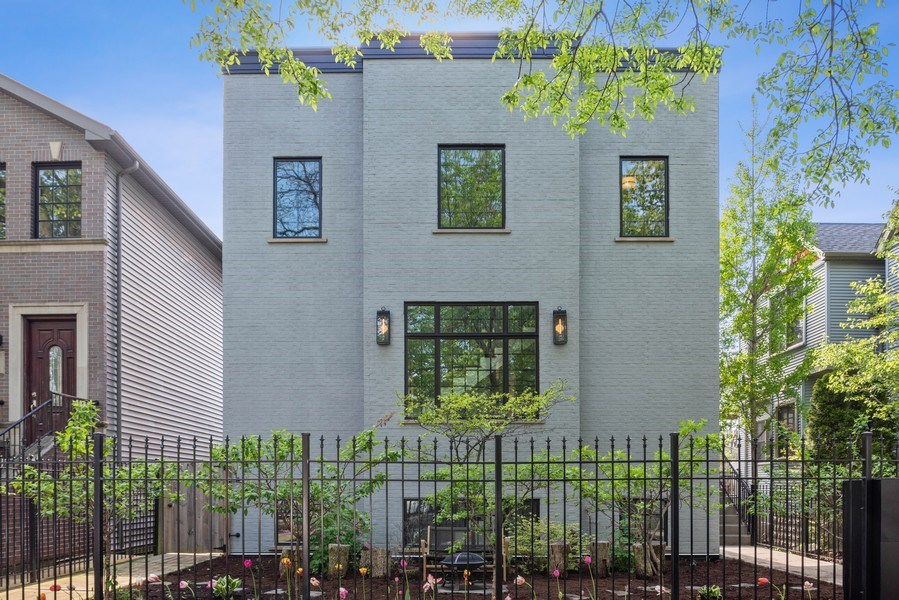 Real Estate Photography - 1842 N Albany, Chicago, IL, 60647 - Front View