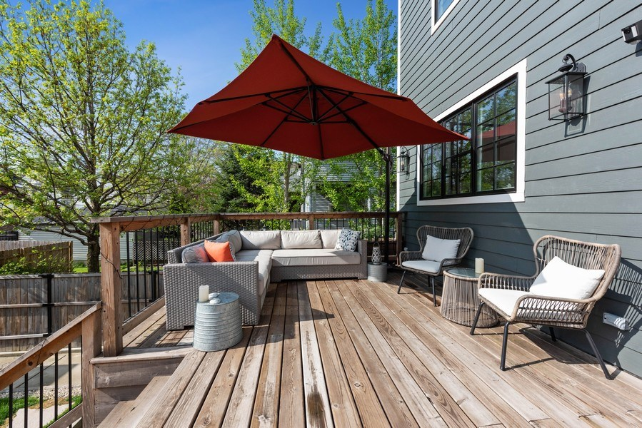 Real Estate Photography - 1842 N Albany, Chicago, IL, 60647 - Deck