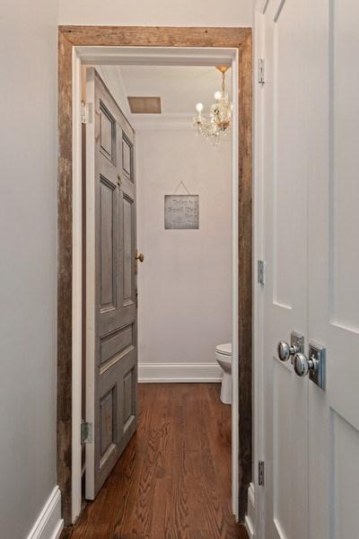 Real Estate Photography - 1842 N Albany, Chicago, IL, 60647 - Half Bath