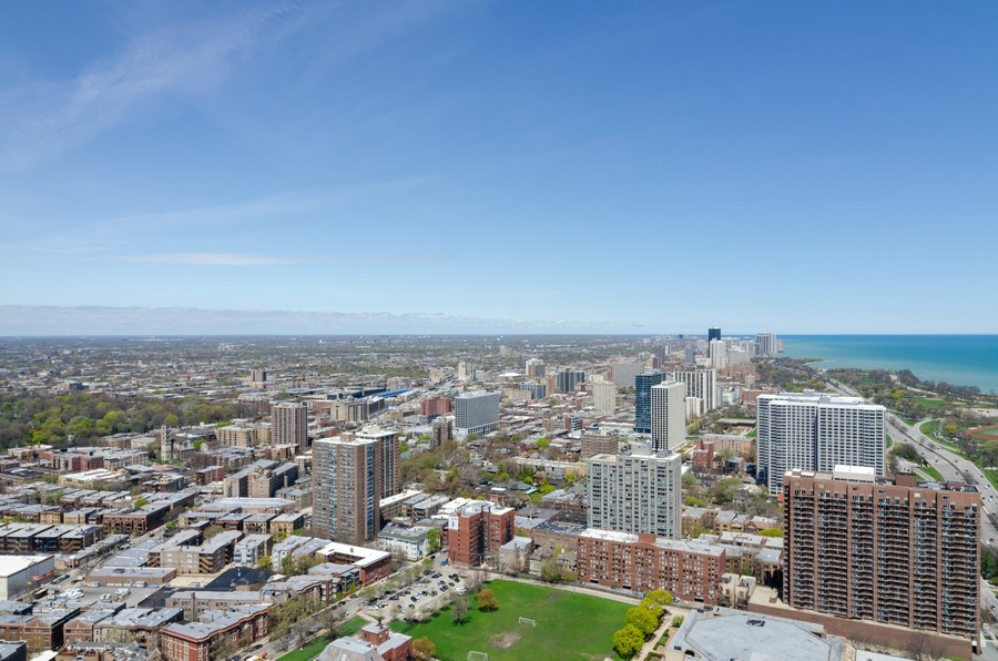 Real Estate Photography - 655 Irving Park, Unit 5104, Chicago, IL, 60613 - City View