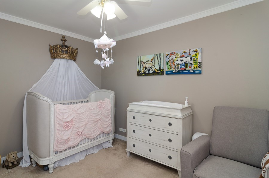 Real Estate Photography - 655 Irving Park, Unit 5104, Chicago, IL, 60613 - 2nd Bedroom