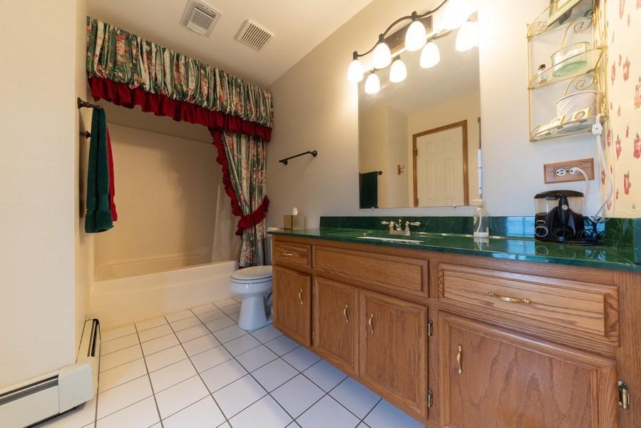 Real Estate Photography - 0S143 Rowe Rd, Elbur, IL, 60119 - Master Bathroom