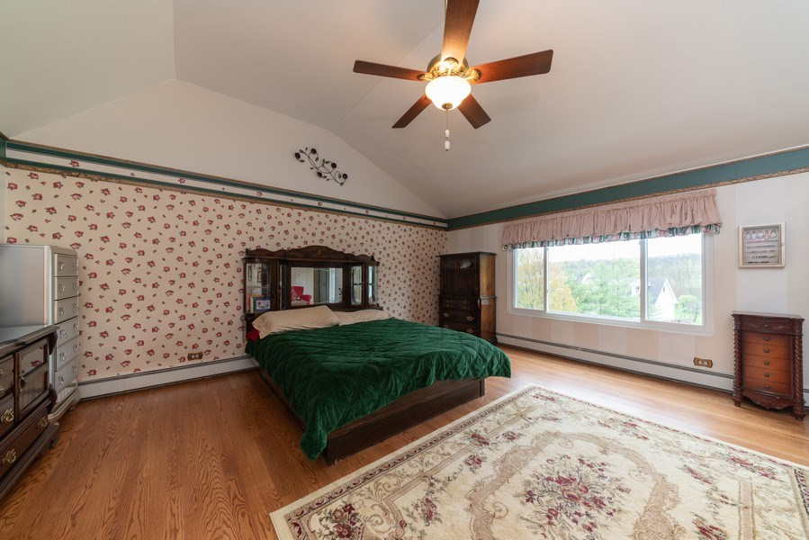 Real Estate Photography - 0S143 Rowe Rd, Elbur, IL, 60119 - Master Bedroom