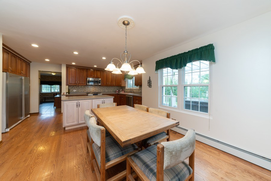 Real Estate Photography - 0S143 Rowe Rd, Elbur, IL, 60119 - Kitchen / Breakfast Room