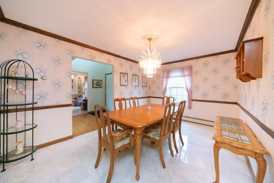 Real Estate Photography - 0S143 Rowe Rd, Elbur, IL, 60119 - Dining Room