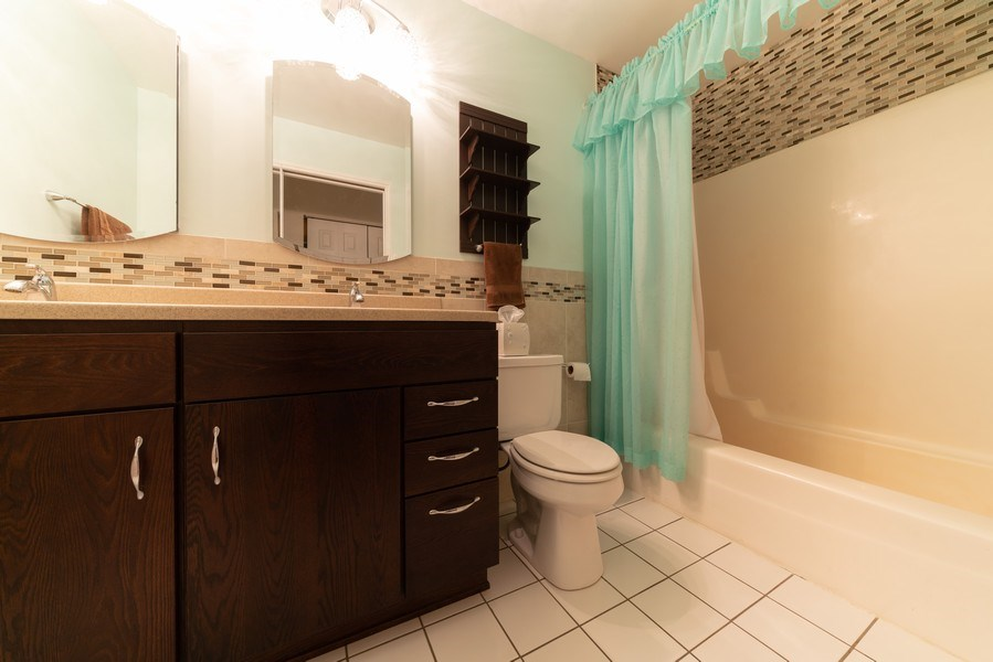 Real Estate Photography - 0S143 Rowe Rd, Elbur, IL, 60119 - 2nd Bathroom