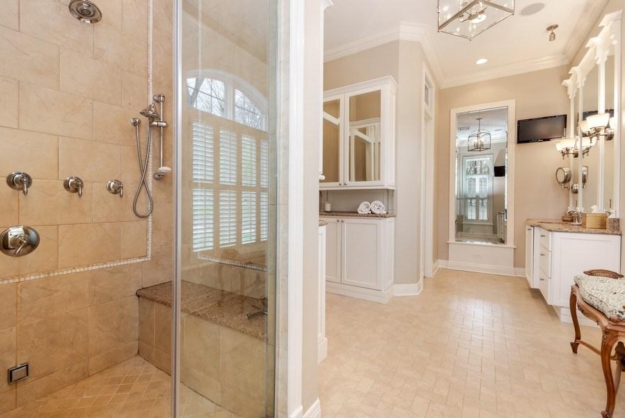 Real Estate Photography - 1027 S Butternut Cir, Frankfort, IL, 60423 - Master Bathroom