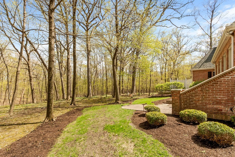 Real Estate Photography - 1027 S Butternut Cir, Frankfort, IL, 60423 - Wooded Views