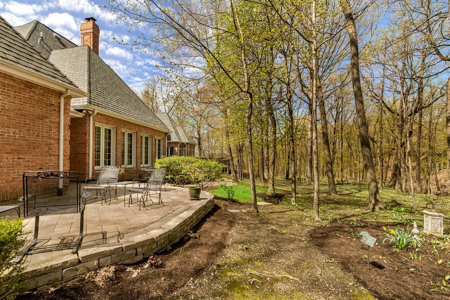 Real Estate Photography - 1027 S Butternut Cir, Frankfort, IL, 60423 - Patio and View
