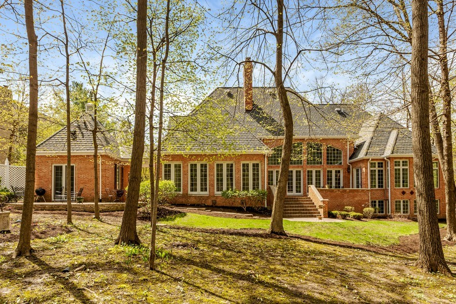 Real Estate Photography - 1027 S Butternut Cir, Frankfort, IL, 60423 - Rear View