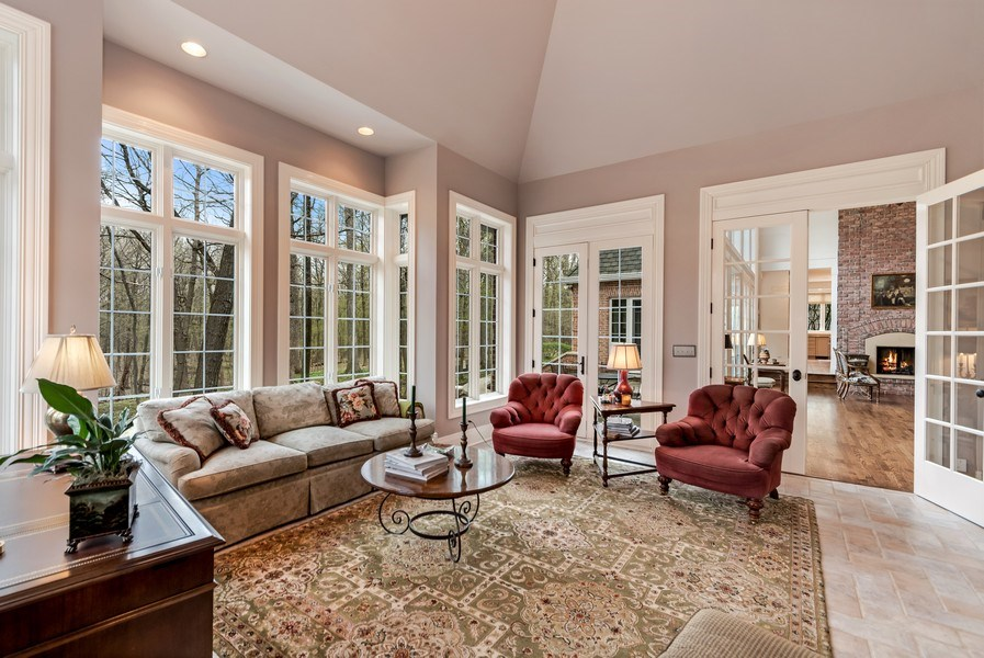 Real Estate Photography - 1027 S Butternut Cir, Frankfort, IL, 60423 - Sunroom