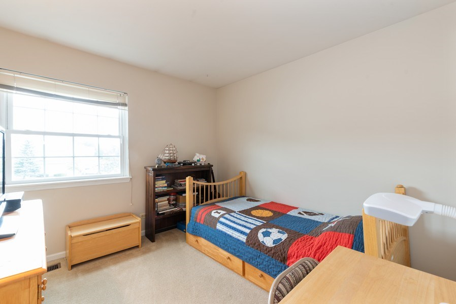 Real Estate Photography - 1120 Longford Road, Bartlett, IL, 60103 - 2nd Bedroom