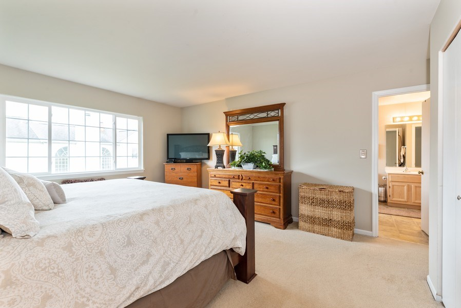 Real Estate Photography - 1120 Longford Road, Bartlett, IL, 60103 - Master Bedroom