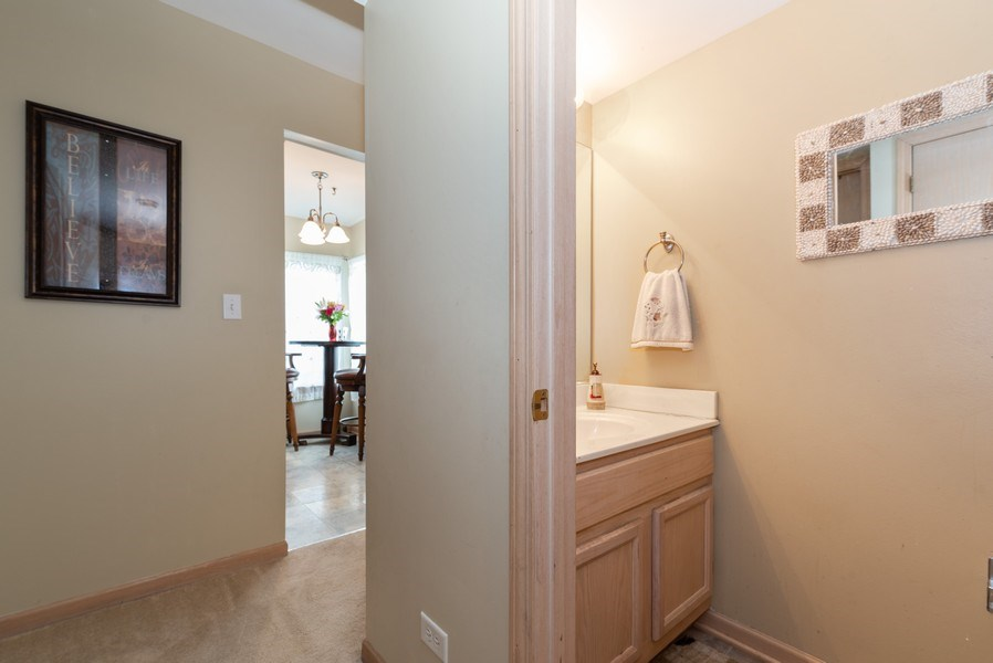 Real Estate Photography - 1120 Longford Road, Bartlett, IL, 60103 - Powder Room