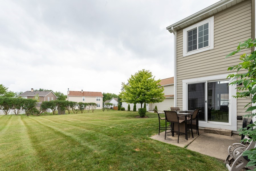 Real Estate Photography - 1120 Longford Road, Bartlett, IL, 60103 - Exterior Backyard View