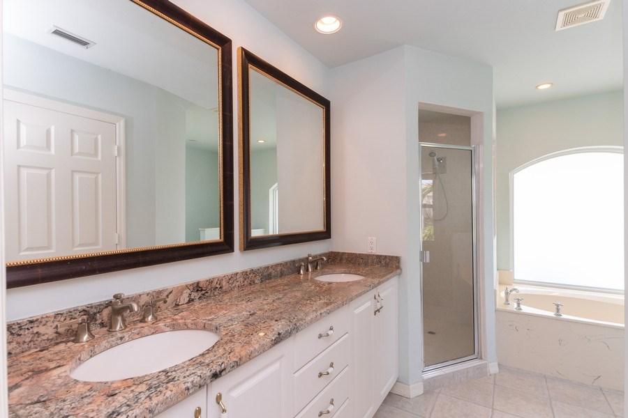 Real Estate Photography - 1476 Honeysuckle Avenue, Marco Island, FL, 34145 - Master Bathroom