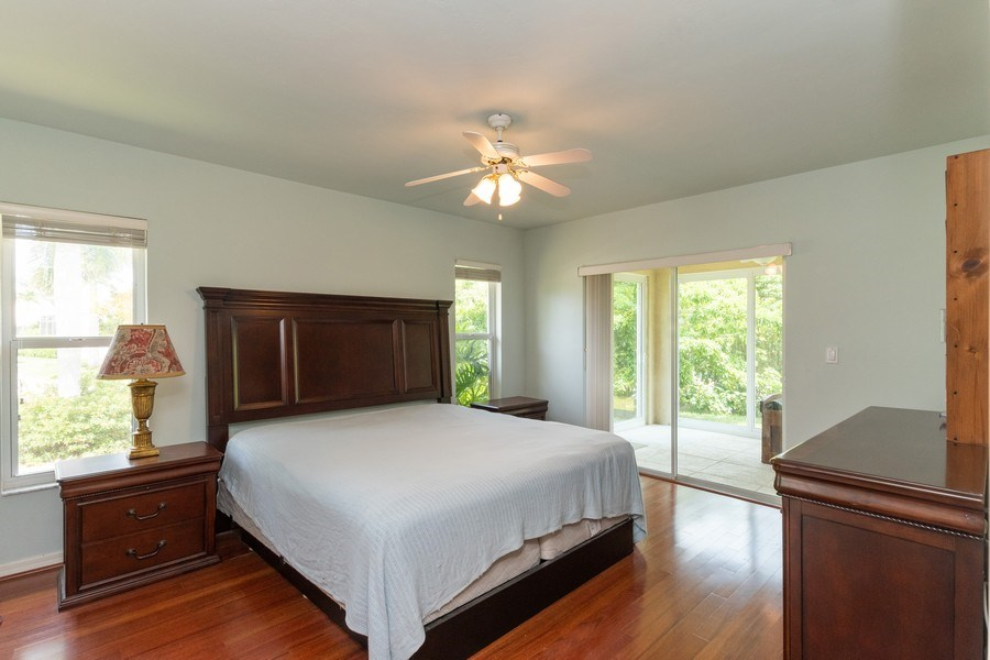 Real Estate Photography - 1476 Honeysuckle Avenue, Marco Island, FL, 34145 - Master Bedroom