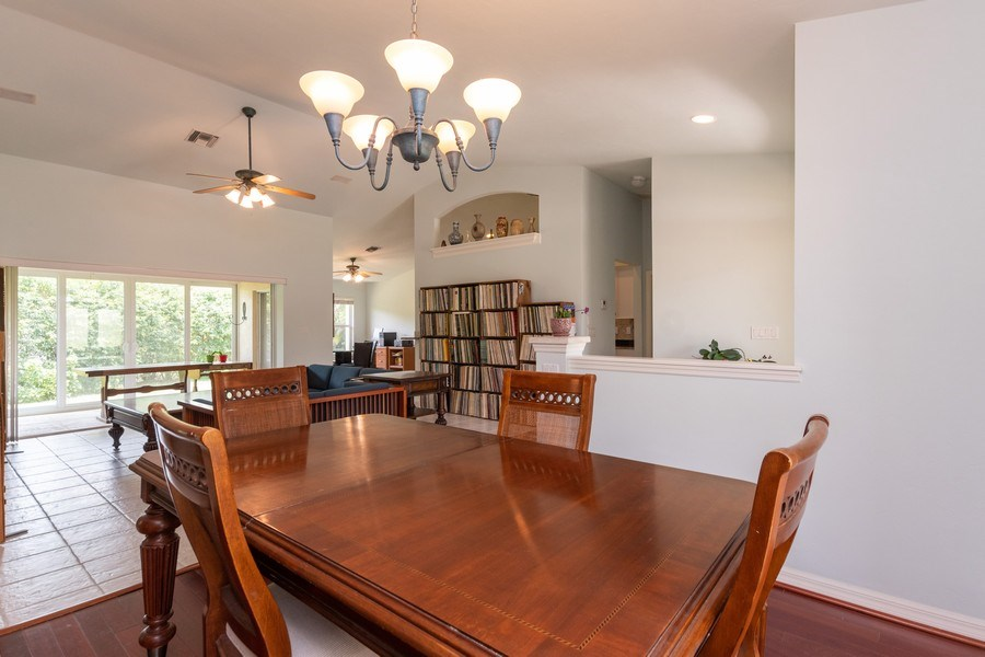 Real Estate Photography - 1476 Honeysuckle Avenue, Marco Island, FL, 34145 - Living Room / Dining Room