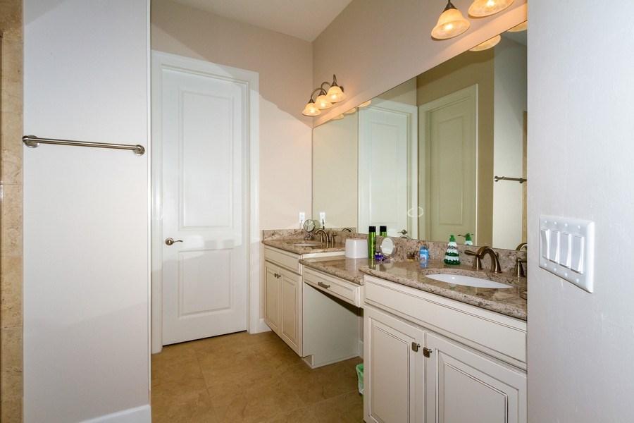 Real Estate Photography - 8851 Vacarro Ct, Naples, FL, 34119 - Master Bathroom