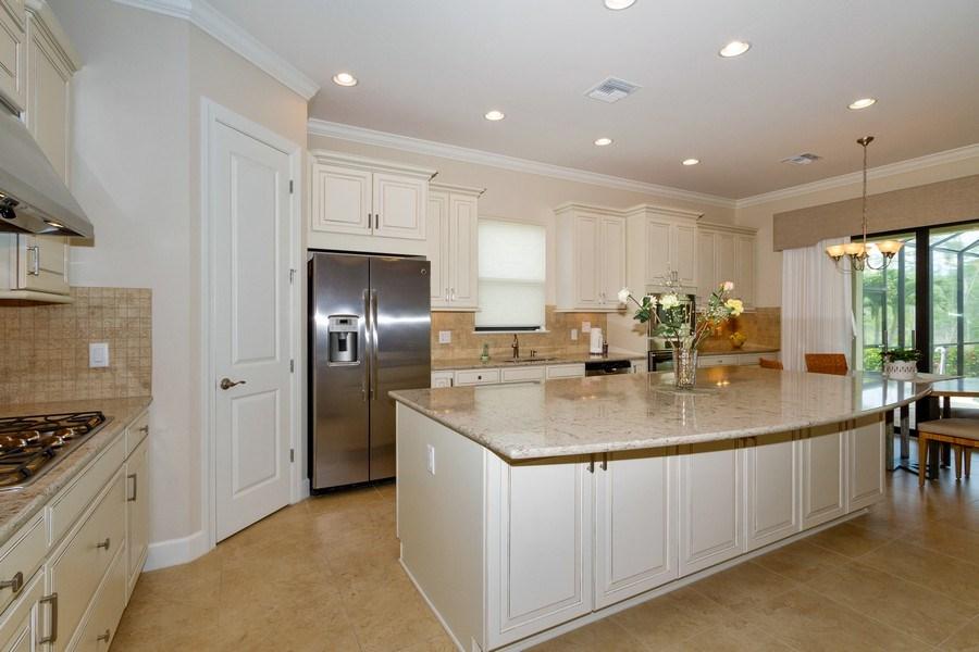 Real Estate Photography - 8851 Vacarro Ct, Naples, FL, 34119 - Kitchen