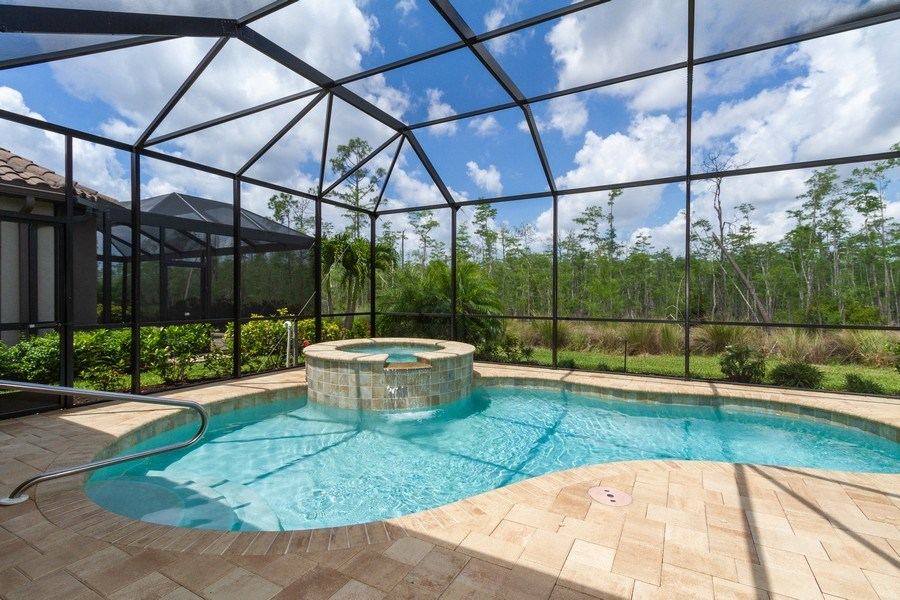 Real Estate Photography - 8851 Vacarro Ct, Naples, FL, 34119 -