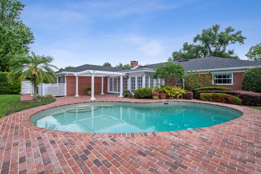 Real Estate Photography - 421 Park North Ct, Winter Park, FL, 32789 - Swimming Pool