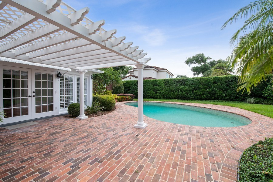 Real Estate Photography - 421 Park North Ct, Winter Park, FL, 32789 - Patio