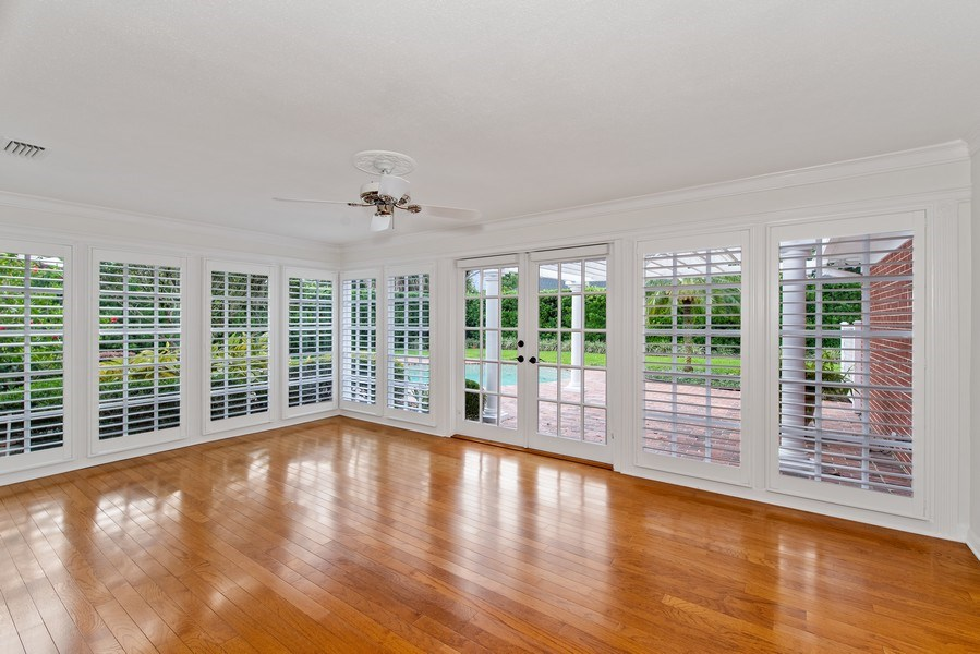 Real Estate Photography - 421 Park North Ct, Winter Park, FL, 32789 - Florida Room