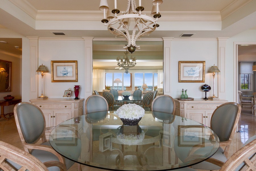Real Estate Photography - 7751 Fisher Island Dr, 7751, Miami Beach, FL, 33109 - Dining Room
