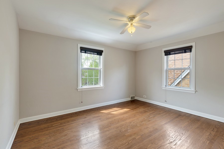 Real Estate Photography - 1821 N. 75th Ct, Elmwood Park, IL, 60707 - 3rd Bedroom