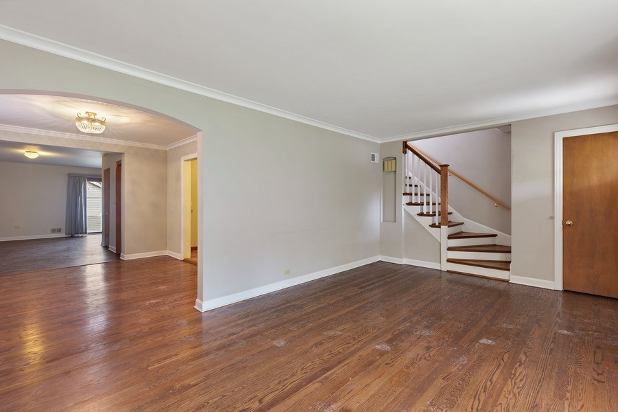 Real Estate Photography - 1821 N. 75th Ct, Elmwood Park, IL, 60707 - Living Room
