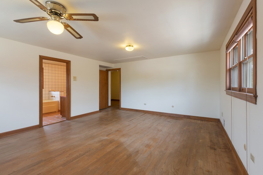 Real Estate Photography - 1821 N. 75th Ct, Elmwood Park, IL, 60707 - Master Bedroom