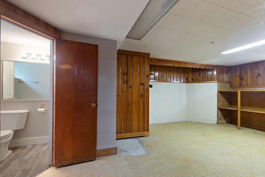 Real Estate Photography - 1821 N. 75th Ct, Elmwood Park, IL, 60707 - Basement