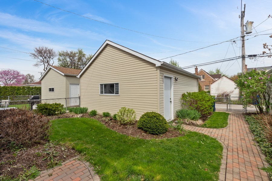 Real Estate Photography - 1821 N. 75th Ct, Elmwood Park, IL, 60707 - Back Yard