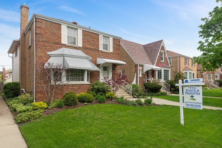 Real Estate Photography - 1821 N. 75th Ct, Elmwood Park, IL, 60707 - Front View