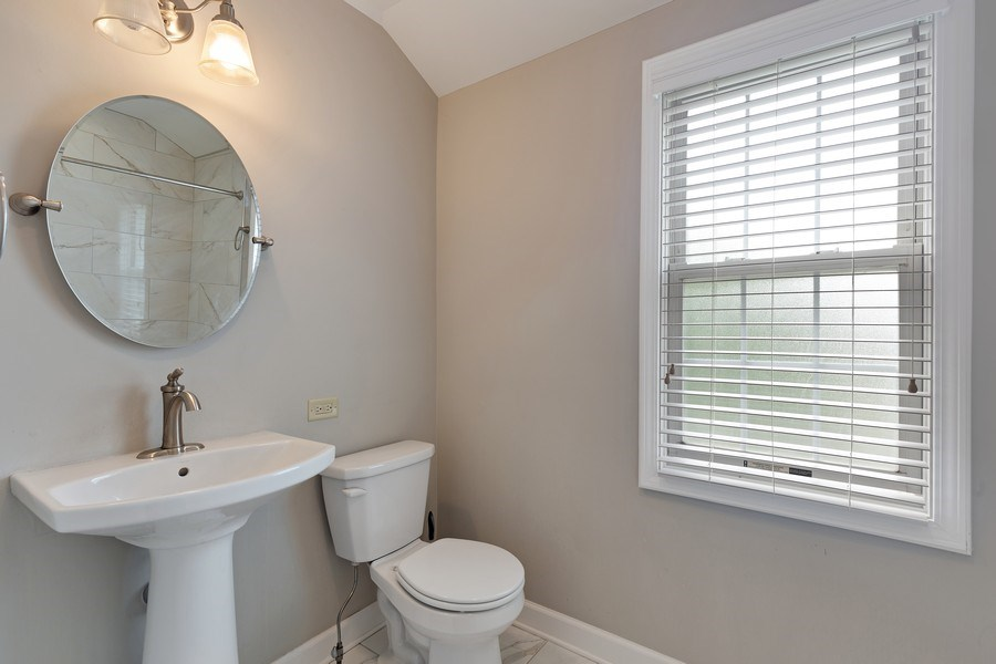Real Estate Photography - 1821 N. 75th Ct, Elmwood Park, IL, 60707 - Bathroom