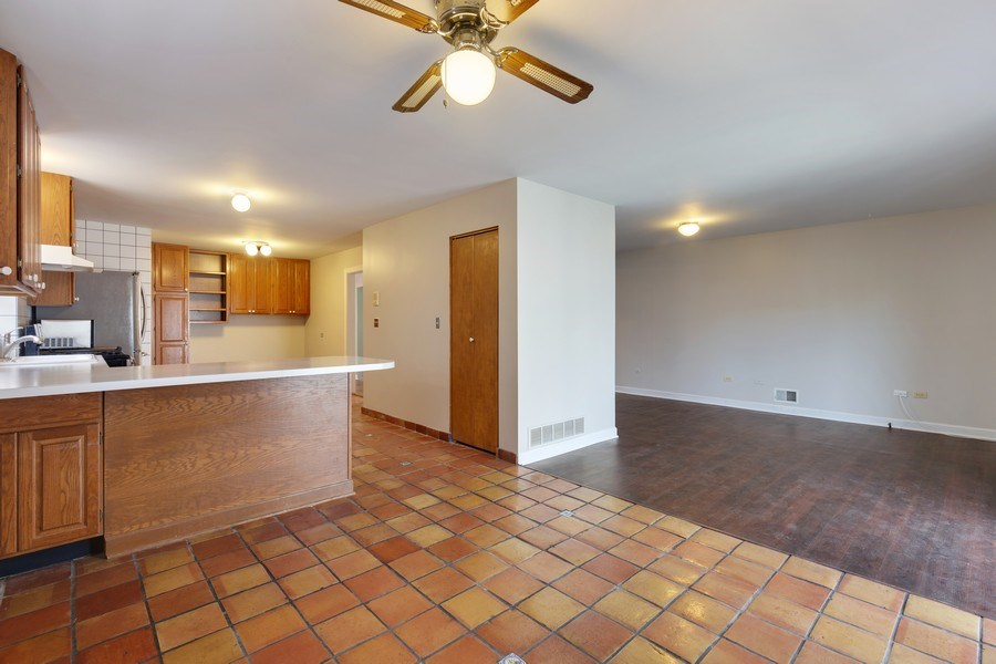 Real Estate Photography - 1821 N. 75th Ct, Elmwood Park, IL, 60707 - Family Room / Kitchen