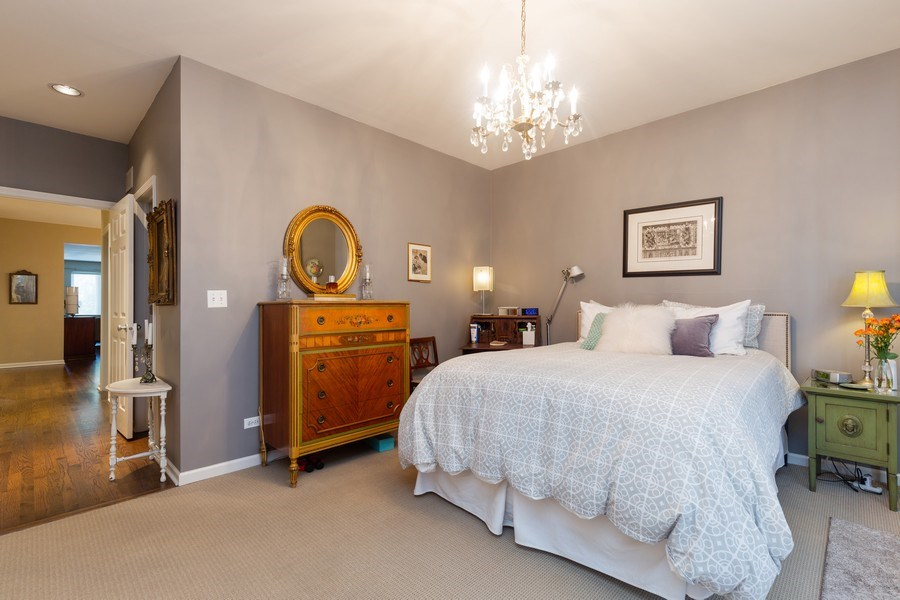 Real Estate Photography - 1112 N. Paulina, #1, Chicago, IL, 60622 - Master Bedroom