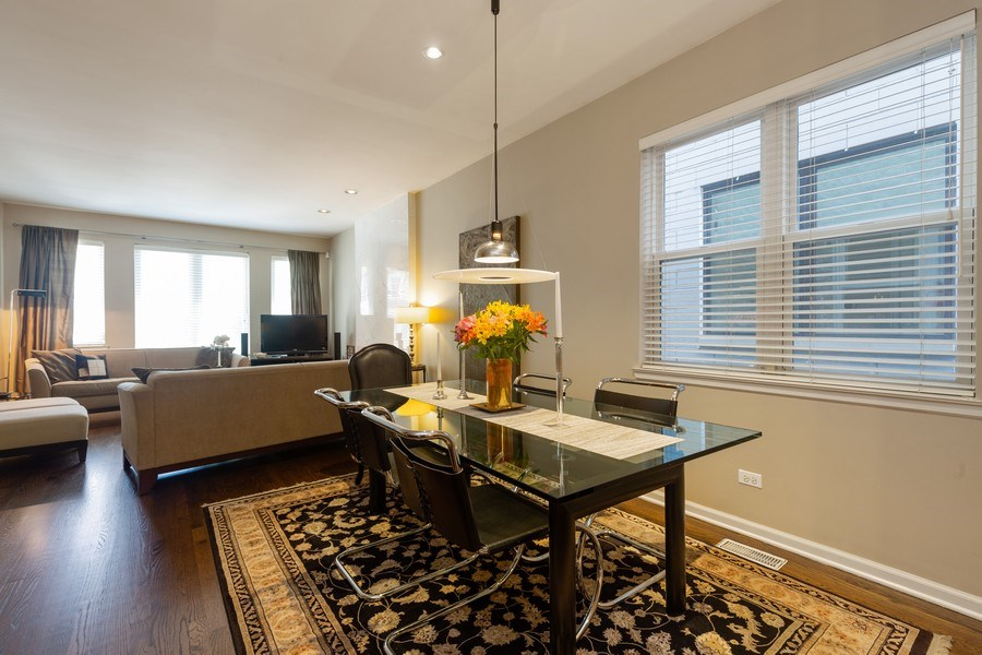 Real Estate Photography - 1112 N. Paulina, #1, Chicago, IL, 60622 - Dining Room