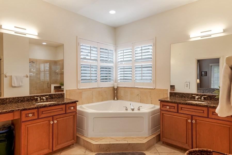 Real Estate Photography - 14638 Indigo Lakes CIR, Naples, FL, 34119 - Master Bathroom