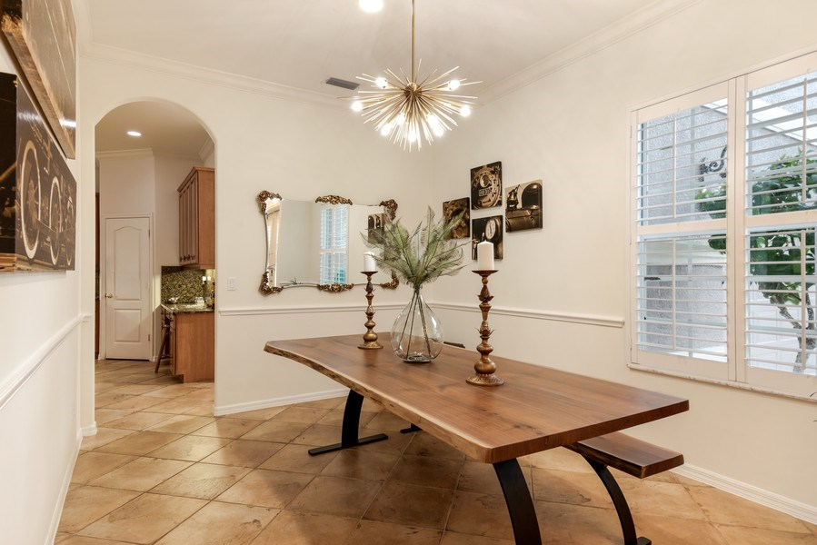 Real Estate Photography - 14638 Indigo Lakes CIR, Naples, FL, 34119 - Dining Room