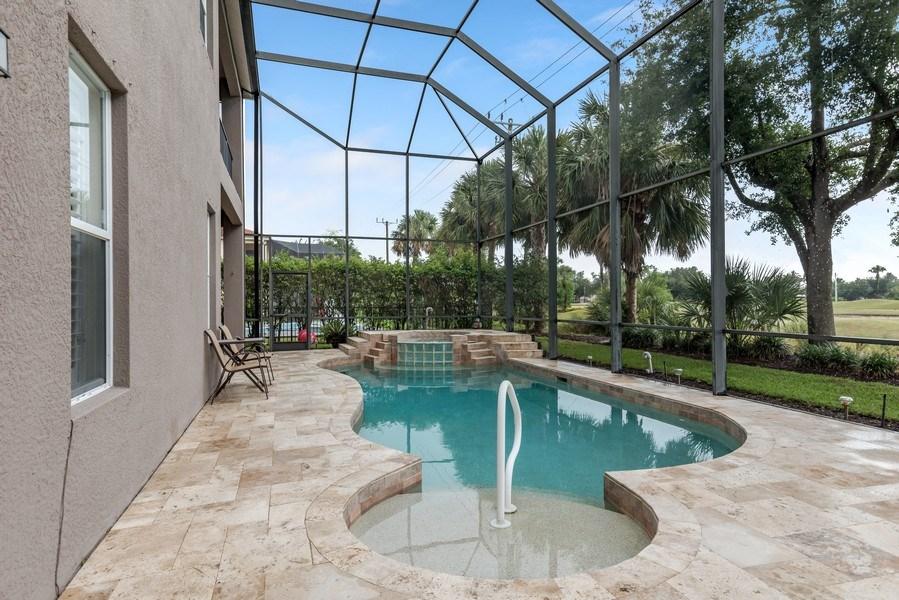 Real Estate Photography - 14638 Indigo Lakes CIR, Naples, FL, 34119 - Pool